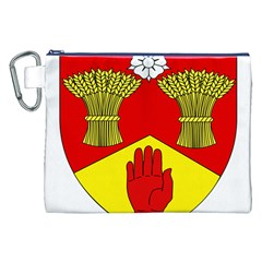 County Londonderry Coat of Arms Canvas Cosmetic Bag (XXL)