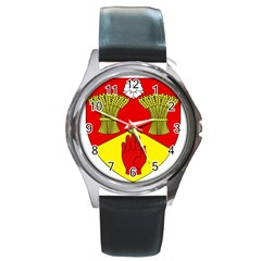 County Londonderry Coat of Arms  Round Metal Watch