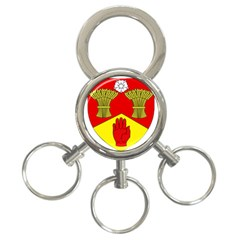 County Londonderry Coat of Arms  3-Ring Key Chains
