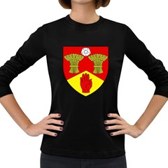 County Londonderry Coat of Arms  Women s Long Sleeve Dark T-Shirts