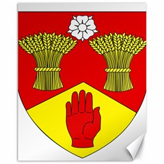 County Londonderry Coat of Arms  Canvas 11  x 14