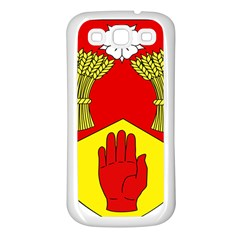 County Londonderry Coat of Arms  Samsung Galaxy S3 Back Case (White)