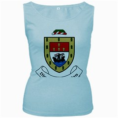 County Mayo Coat of Arms Women s Baby Blue Tank Top