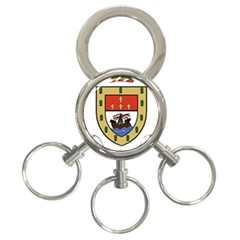 County Mayo Coat of Arms 3-Ring Key Chains