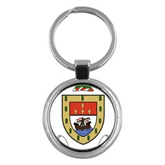 County Mayo Coat of Arms Key Chains (Round)