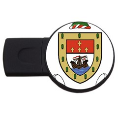 County Mayo Coat of Arms USB Flash Drive Round (2 GB)