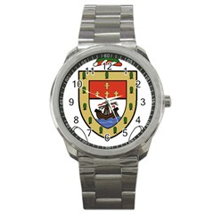 County Mayo Coat of Arms Sport Metal Watch