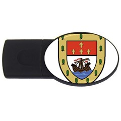 County Mayo Coat of Arms USB Flash Drive Oval (4 GB)