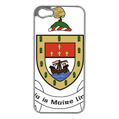County Mayo Coat of Arms Apple iPhone 5 Case (Silver)