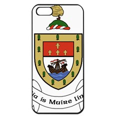 County Mayo Coat of Arms Apple iPhone 5 Seamless Case (Black)