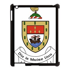 County Mayo Coat of Arms Apple iPad 3/4 Case (Black)