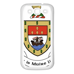 County Mayo Coat of Arms Samsung Galaxy S3 Back Case (White)
