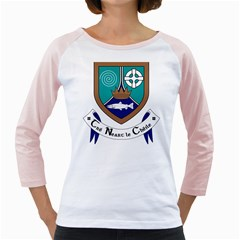 County Meath Coat of Arms Girly Raglans