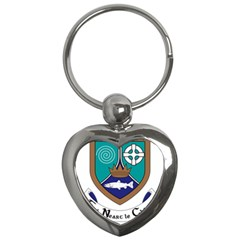 County Meath Coat of Arms Key Chains (Heart)