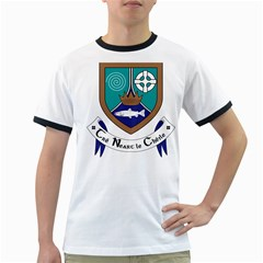 County Meath Coat of Arms Ringer T-Shirts