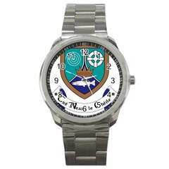 County Meath Coat of Arms Sport Metal Watch