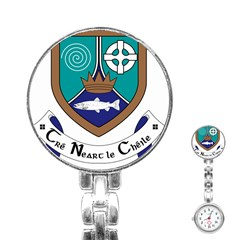 County Meath Coat of Arms Stainless Steel Nurses Watch