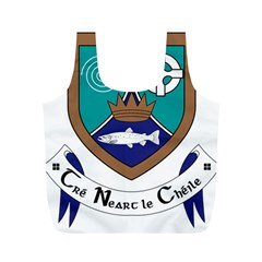 County Meath Coat of Arms Full Print Recycle Bags (M)