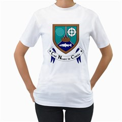 County Meath Coat of Arms Women s T-Shirt (White)