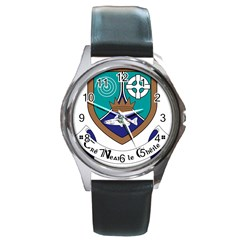 County Meath Coat of Arms Round Metal Watch