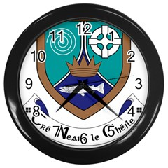 County Meath Coat of Arms Wall Clocks (Black)
