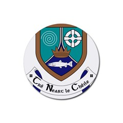 County Meath Coat of Arms Rubber Coaster (Round)