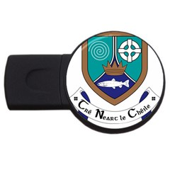 County Meath Coat of Arms USB Flash Drive Round (2 GB)