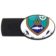 County Meath Coat of Arms USB Flash Drive Oval (2 GB)