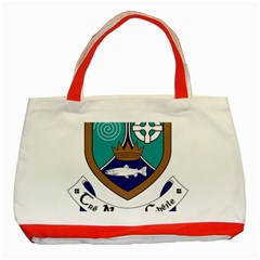 County Meath Coat of Arms Classic Tote Bag (Red)