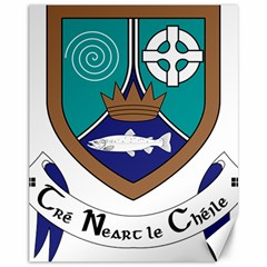 County Meath Coat of Arms Canvas 11  x 14