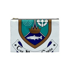 County Meath Coat of Arms Cosmetic Bag (Medium)
