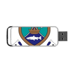 County Meath Coat of Arms Portable USB Flash (One Side)