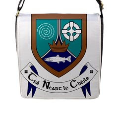 County Meath Coat of Arms Flap Messenger Bag (L)