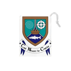 County Meath Coat of Arms Drawstring Pouches (Small)