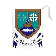 County Meath Coat of Arms Drawstring Pouches (Large)
