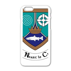 County Meath Coat of Arms Apple iPhone 6/6S White Enamel Case