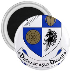 County Monaghan Coat of Arms  3  Magnets
