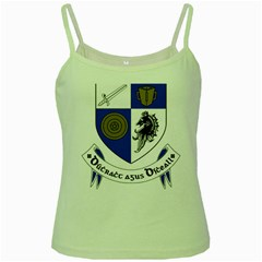 County Monaghan Coat of Arms  Green Spaghetti Tank