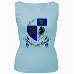 County Monaghan Coat of Arms  Women s Baby Blue Tank Top