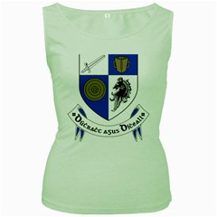 County Monaghan Coat of Arms  Women s Green Tank Top