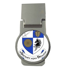 County Monaghan Coat of Arms  Money Clips (Round)