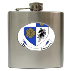 County Monaghan Coat of Arms  Hip Flask (6 oz)