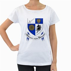 County Monaghan Coat of Arms  Women s Loose-Fit T-Shirt (White)
