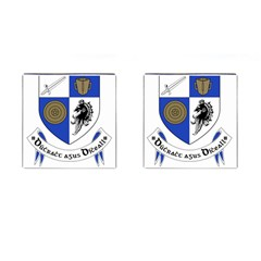 County Monaghan Coat of Arms  Cufflinks (Square)