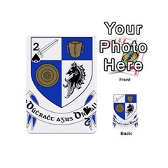 County Monaghan Coat Of Arms  Playing Cards 54 (mini)