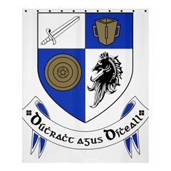 County Monaghan Coat of Arms  Shower Curtain 60  x 72  (Medium)
