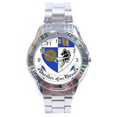 County Monaghan Coat of Arms  Stainless Steel Analogue Watch