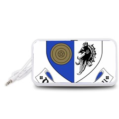 County Monaghan Coat of Arms  Portable Speaker (White)