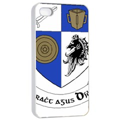 County Monaghan Coat of Arms  Apple iPhone 4/4s Seamless Case (White)
