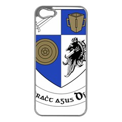 County Monaghan Coat of Arms  Apple iPhone 5 Case (Silver)